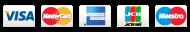 Merchant Equipment Store Credit Card Logos